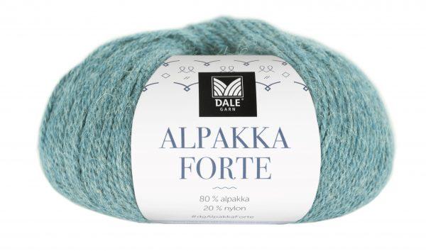226-713_DG_Alpakka Forte_713_Lys sjøgrønn melert_banderole