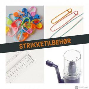 STRIKKETILBEHØR