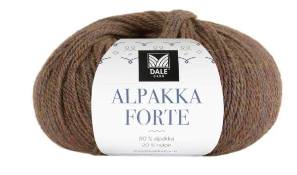 226-725_DG_Alpakka_Forte_725_Brun_Melert_Banderole