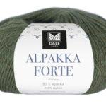 226-727_DG_Alpakka_Forte_727_Skogsgrønn_Melert_Banderole